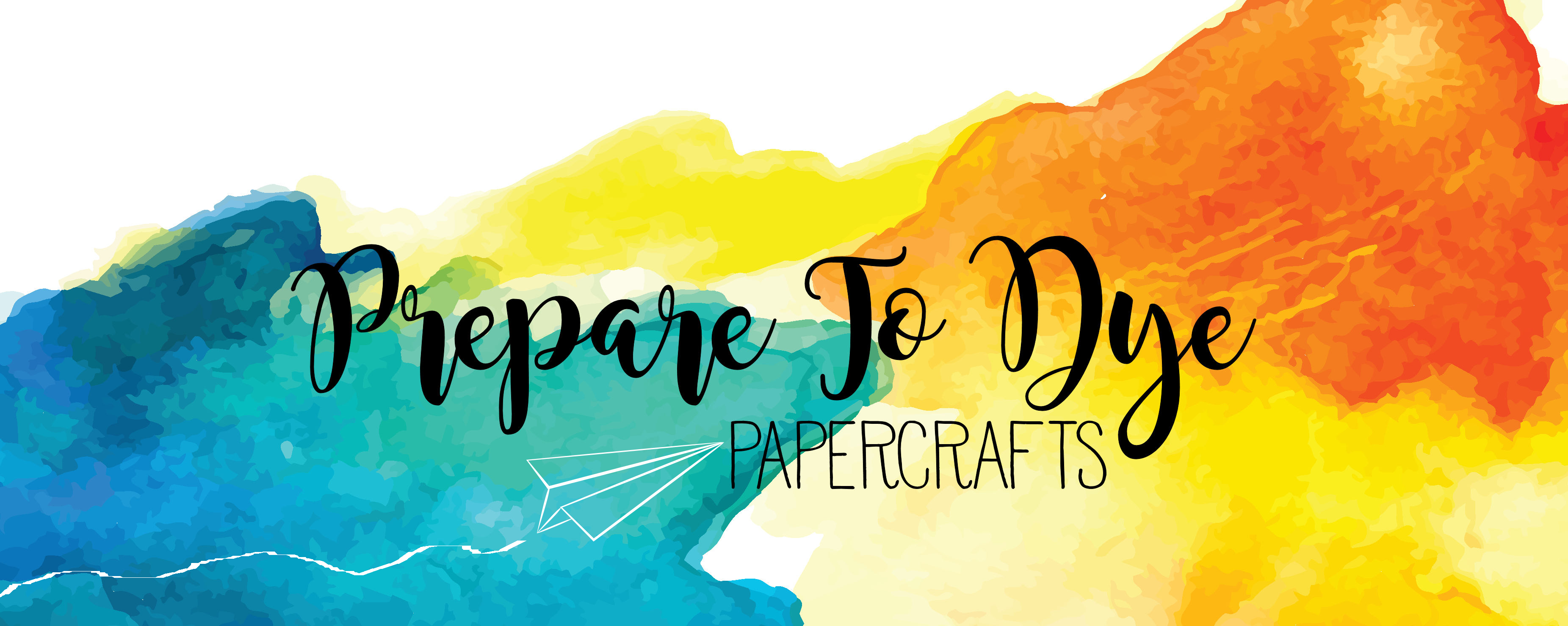 prepare to dye papercrafts