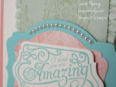 Amazing Lovely Romance card detail