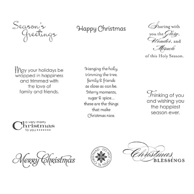 Stampin' Up! More Merry Messages