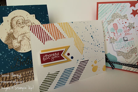 Stamp of the Month Club - Stampin' Up! - stampin up - Gorgeous Grunge - Sarah Fleming - Prepare to Dye