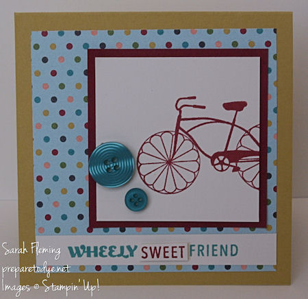 Wheely Sweet Simple Card