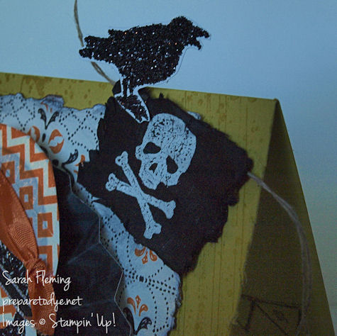 Handmade Halloween cards - Stampin Up! - Toil and Trouble - Sarah Fleming - Prepare to Dye