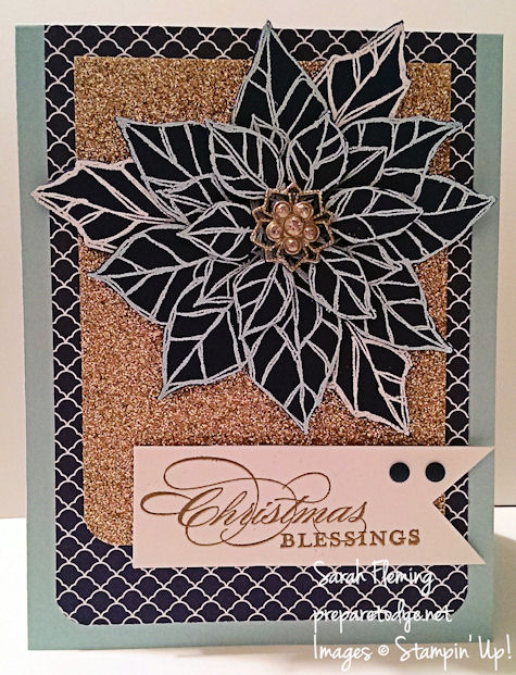 Stampin' Up! Joyful Christmas and More Merry Messages - PPA177 - Sarah Fleming - Prepare to Dye
