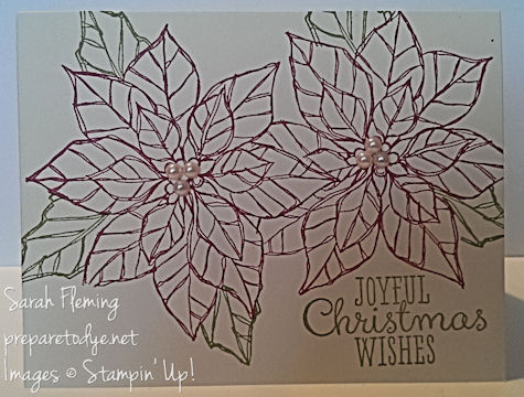 November Stamp of the Month Club - Stampin' Up! Joyful Christmas - subscribe by 11/20 - Sarah Fleming - Prepare to Dye