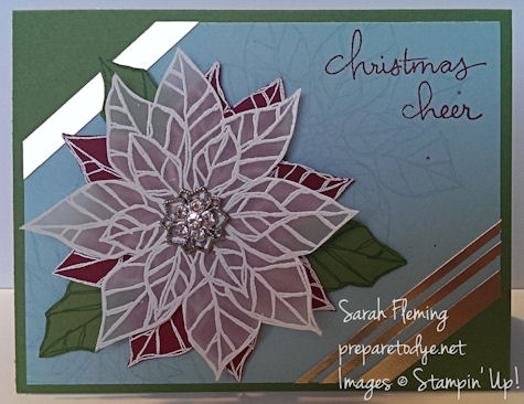 November Stamp of the Month Club - Joyful Christmas - Stampin' Up! - Sarah Fleming - Prepare to Dye- subscribe by 11/20