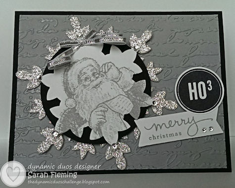Dynamic Duos #79 DD#79 - Santa's List, A Banner Christmas, and Endless Wishes - Sarah Fleming - Prepare to Dye