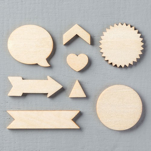 Stampin' Up! Essentials Wood Elements