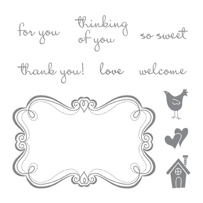 Stampin' Up! Sweetly Framed