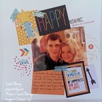 Project Life by Stampin' Up! Everyday Adventure traditional scrapbook page - PLxSU - Sarah Fleming - Prepare to Dye