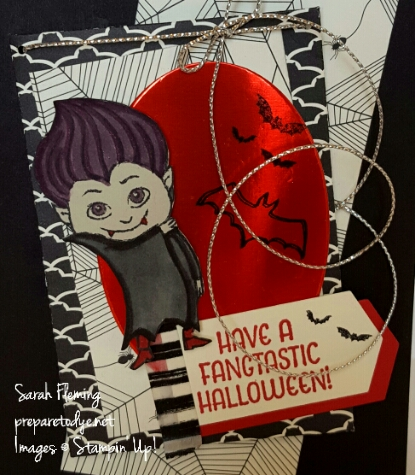 Stampin' Up! Haunt Ya Later - one of the retiring holiday catalog products. Get it today! Sarah Fleming - Prepare to Dye