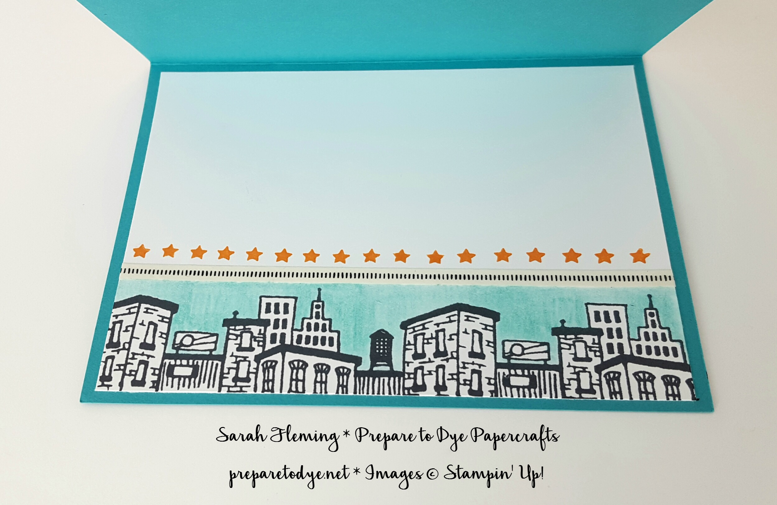 Stampin' Up! Everyday Hero stamp set - masculine handmade card - dad card - Sarah Fleming - Prepare to Dye Papercrafts
