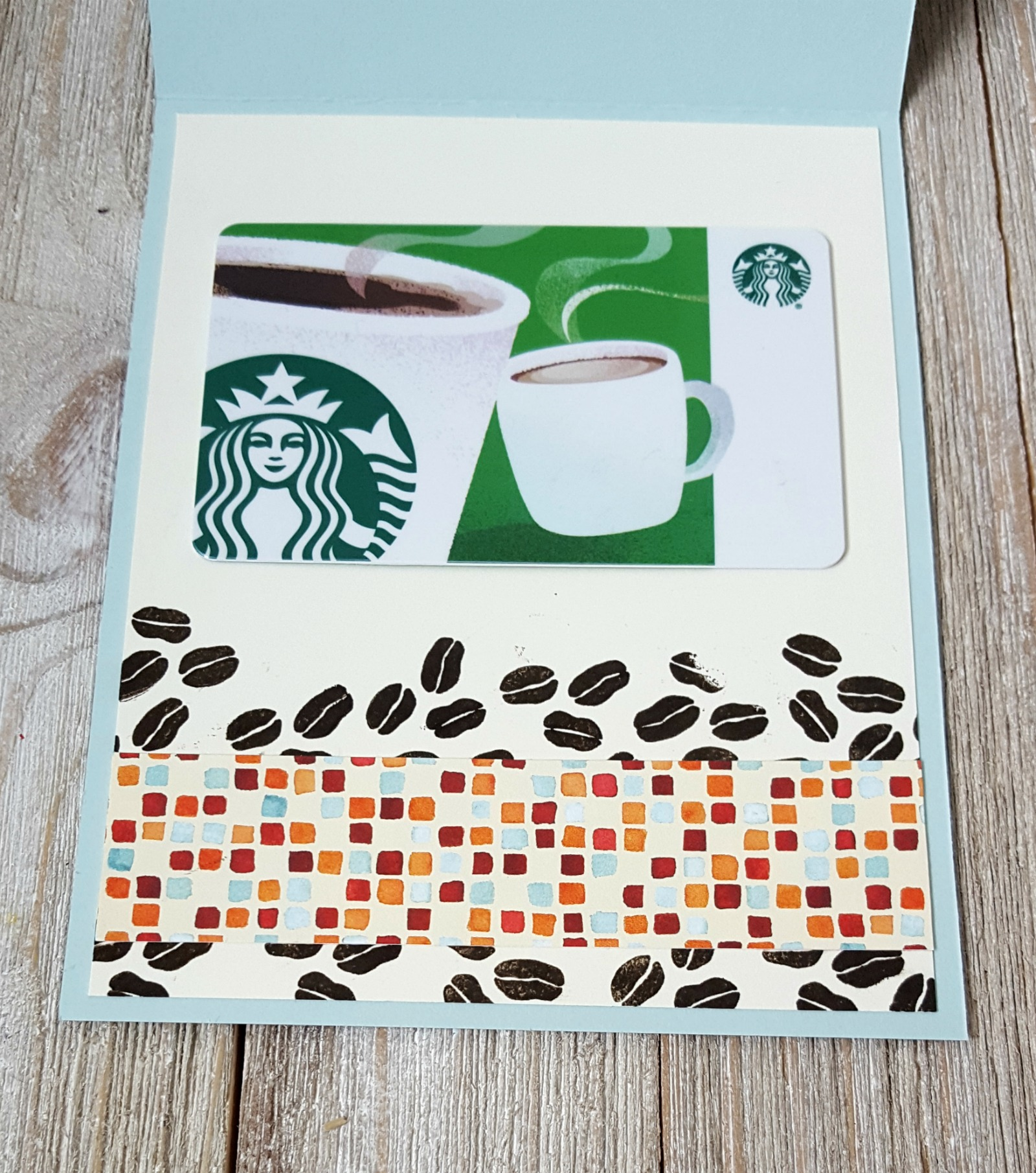Stampin' Up! Coffee Cafe stamps & Painted Autumn paper - coffee themed teachers gifts - Sarah Fleming - Prepare to Dye Papercrafts