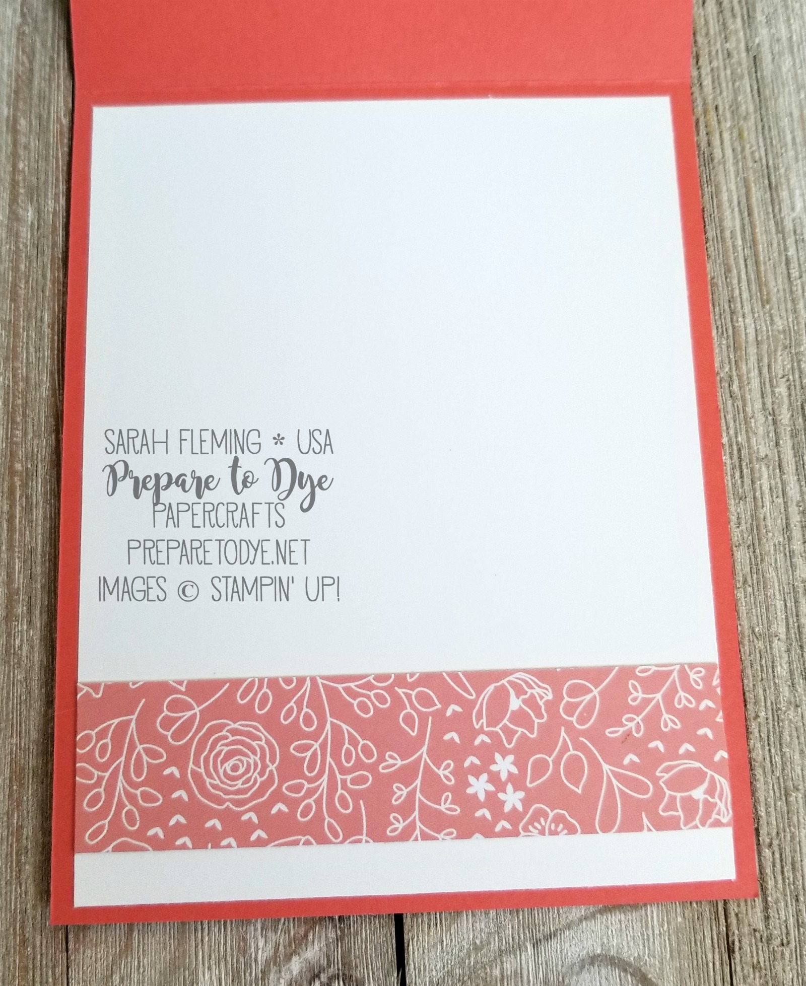 Stampin' Up! Sweet Soiree Memories & More Card Pack with Eastern Beauty stamps - Sarah Fleming - Prepare to Dye Papercrafts