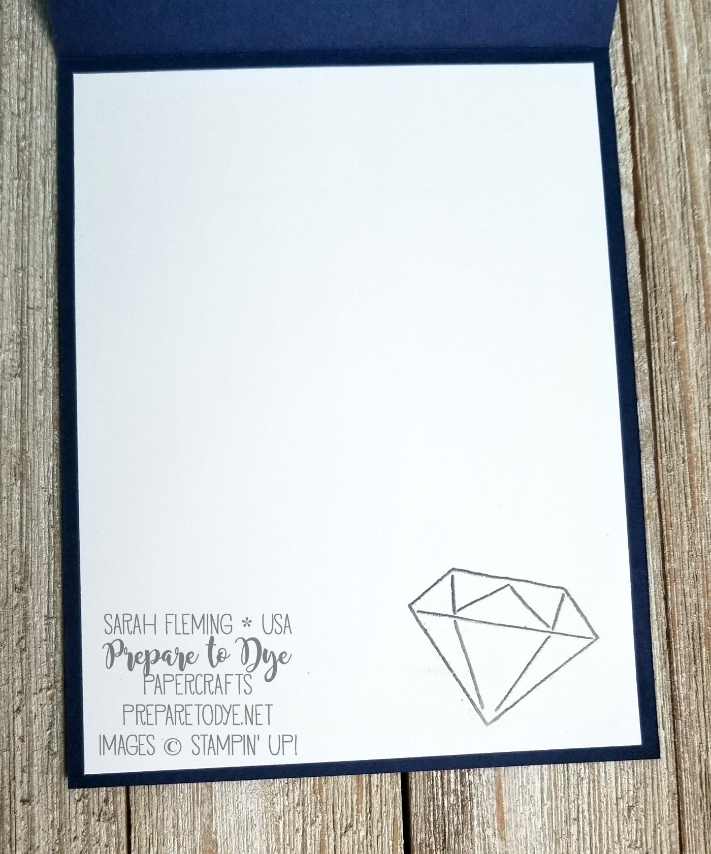 Stampin' Up! You're Priceless with Eclectic Layers Thinlits and Brusho on Glossy Cardstock - handmade friend or thank you card - Sarah Fleming - Prepare to Dye Papercrafts