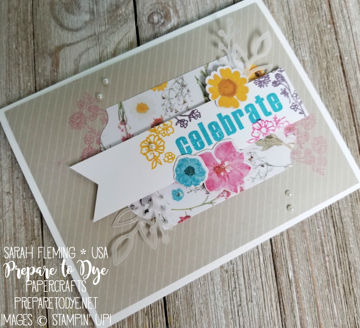 Stampin' Up! Paper Pumpkin monthly subscription box February 2018 kit - see blog post for alternate ideas for this kit - Sarah Fleming - Prepare to Dye Papercrafts