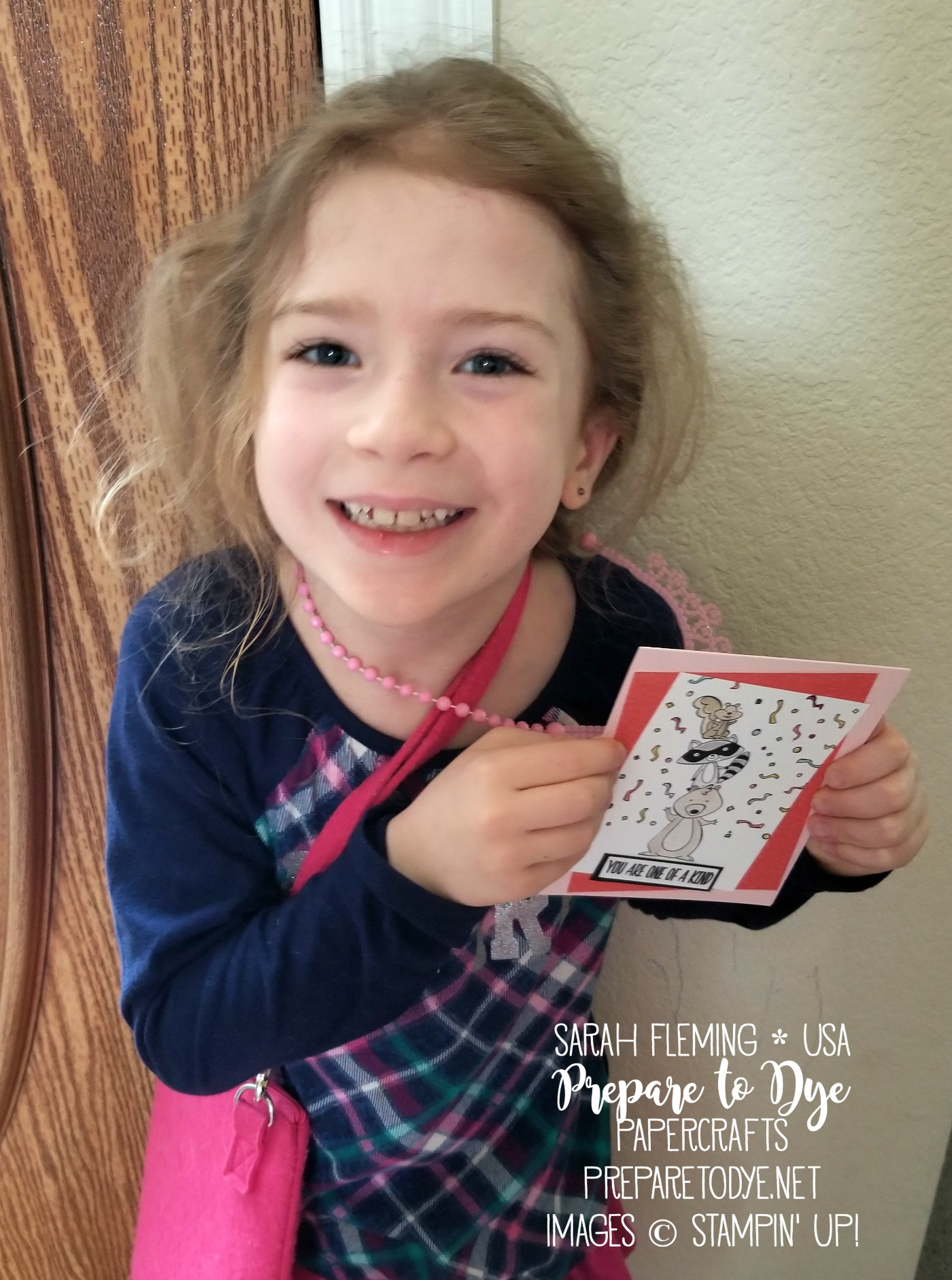 Random Act of Kindness Blog Hop - Stampin' Up! - Sarah Fleming - Prepare to Dye Papercrafts