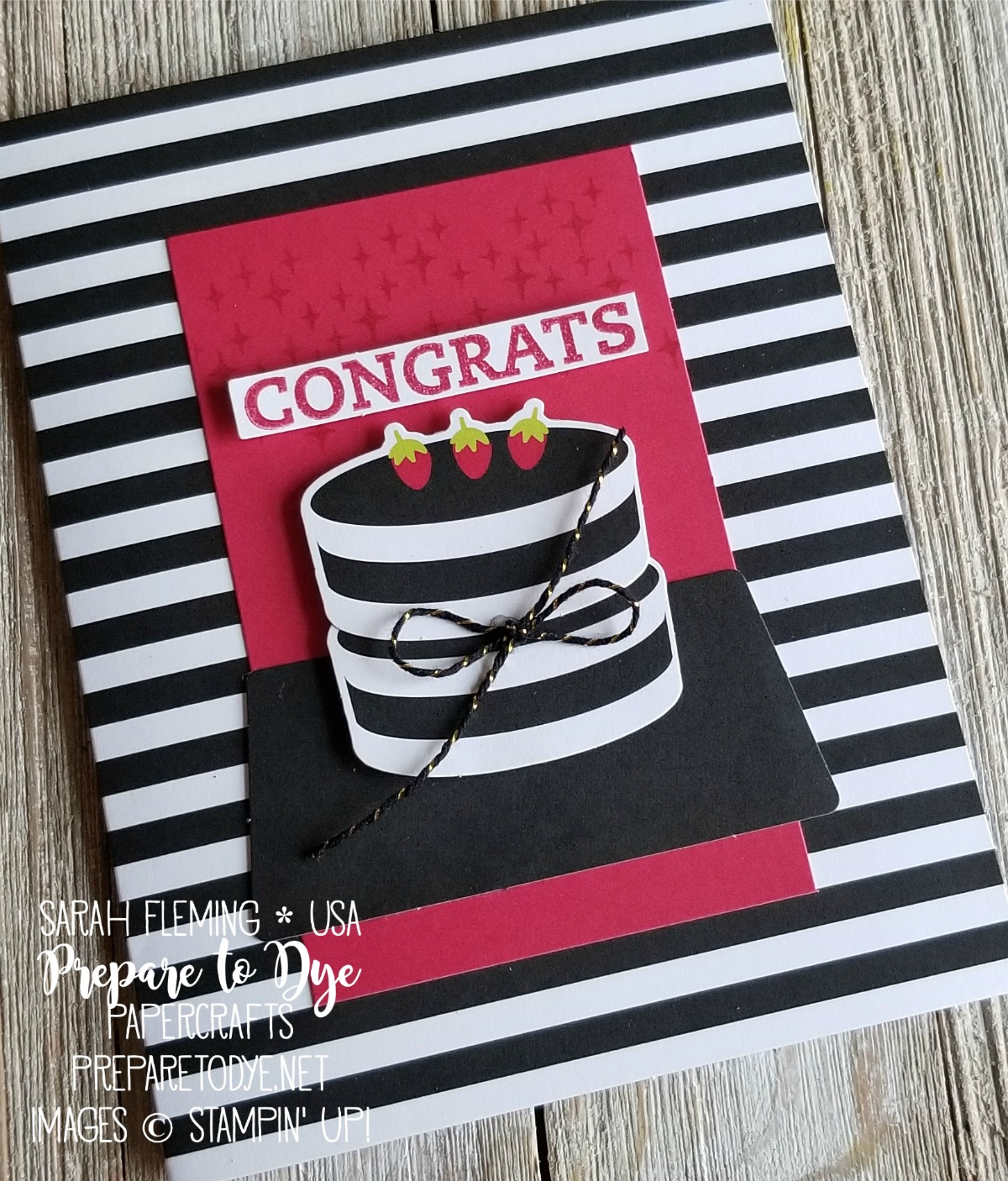 Stampin' Up! Paper Pumpkin monthly subscription box papercrafting kits - June 2018 Paper Pumpkin alternative projects - Sarah Fleming - Prepare to Dye Papercrafts