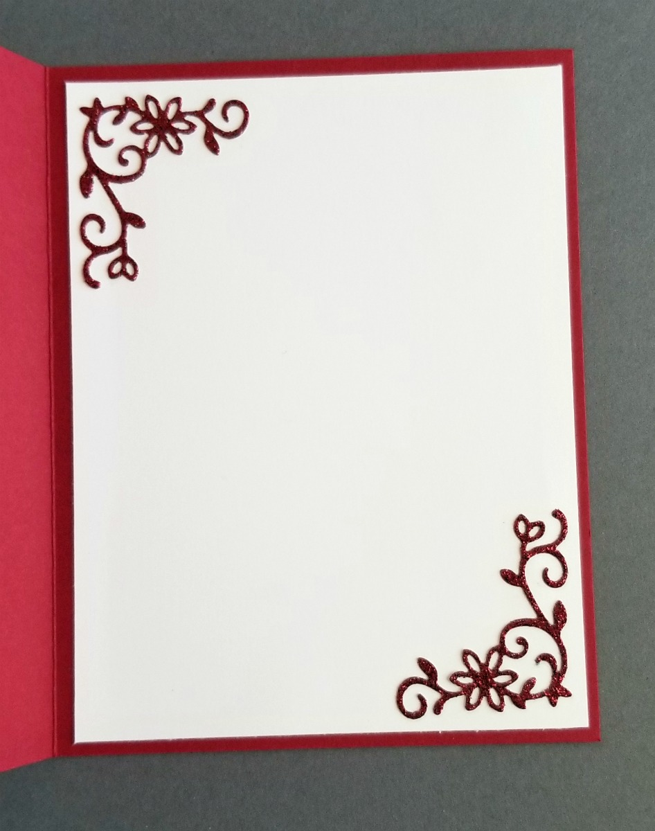 Stampin' Up! handmade ombre Christmas card using the Warm Hearted hostess stamp set with the Stamparatus hinge-step technique, Under the Mistletoe paper, Detailed Deer Thinlits - VIDEO TUTORIAL - Sarah Fleming - Prepare to Dye Papercrafts