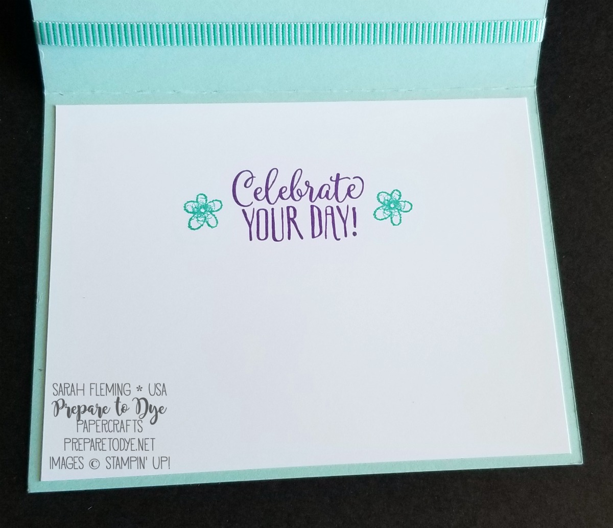 Stampin' Up! Occasions 2019 and Sale-A-Bration 2019 sneak peeks - handmade cupcake card - Hello Cupcake with Gingham Gala paper - Sarah Fleming - Prepare to Dye Papercrafts