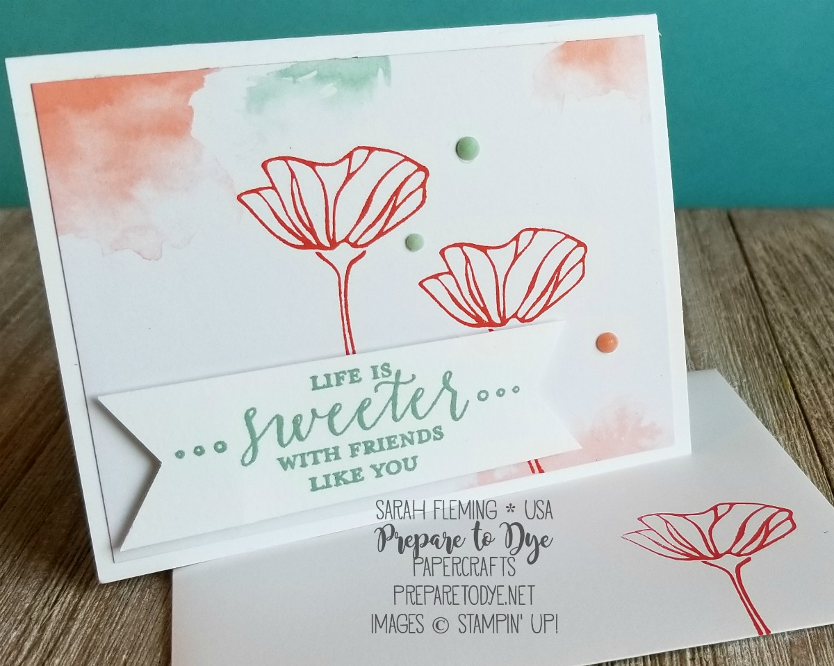 Stampin' Up! Delightfully Detailed Memories & More cards, Detailed with Love stamps, Oh So Eclectic stamps - Sarah Fleming - Prepare to Dye Papercrafts